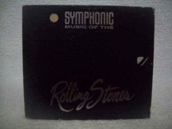 Cd Symphonic Music Of The Rolling Stones- Importado