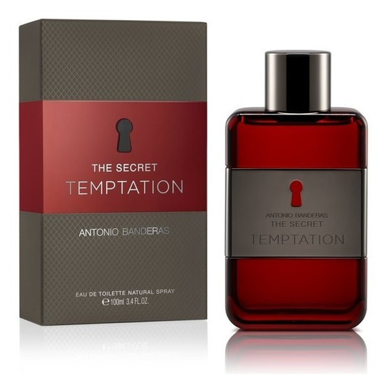 Perfume Masculino Antonio Banderas Secret Temptation 100ml