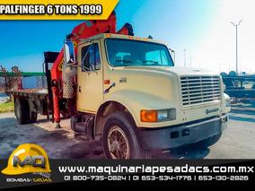 Camion Grua Articulada Hiab 6 Toneladas - Palfinger 1999