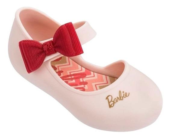Sapatilha Infantil Bebê Barbie Happy Nude Marinho 17 À 25