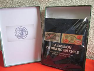 Gran Catalogo La Emision Del Dinero En Chile Firmado Escaso