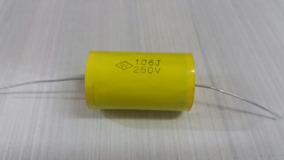 Capacitor 106j 250v Axial C/ 5 Unid