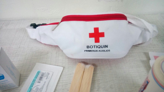 15 Bolsa Canguro Botiquin Personal Primeros Auxilios Vacio