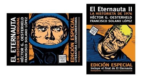 Imagen 1 de 3 de El Eternauta 1 Y 2 - Oesterheld Y Solano López - Doedytores