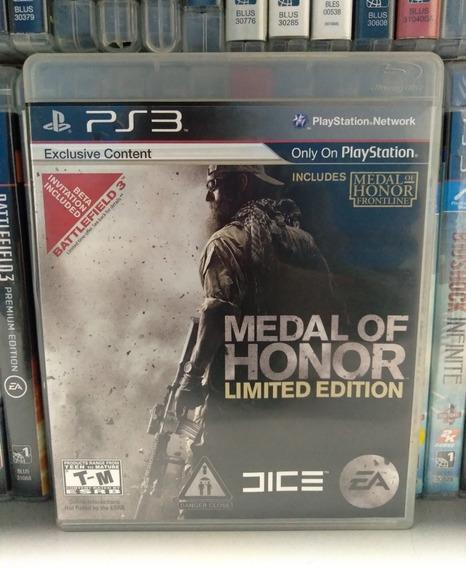 Medal Of Honor Original Ps3 Completo Parcelamento Sem Juros