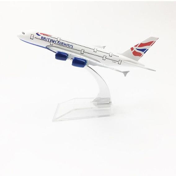 British Airways - Miniatura Aeronave Comercial A380