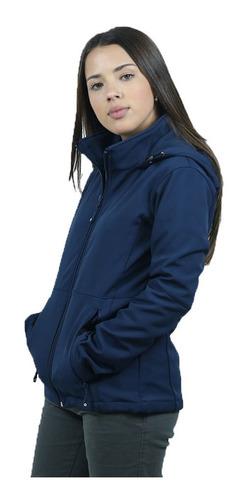 Campera De Neopreno Dama Azul Marino - Textilshop