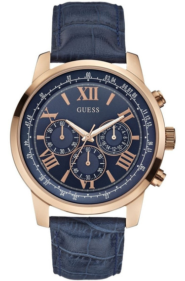 Relógio Guess Blue Horizon Chronograph W0380g5