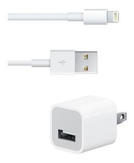 Cargador iPhone (cable + Taco) (3.5vds) Somos Tienda Fisica