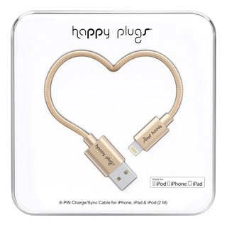 Cable Lightning Happy Plugs Para iPhone Y iPad Colores