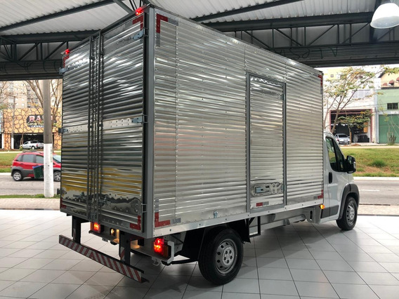 Fiat Ducato Chassi Cabine 2018 Branca Baú Carga Seca