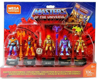 He Man Figurines Masters Of The Universe Mega Construx, 2019