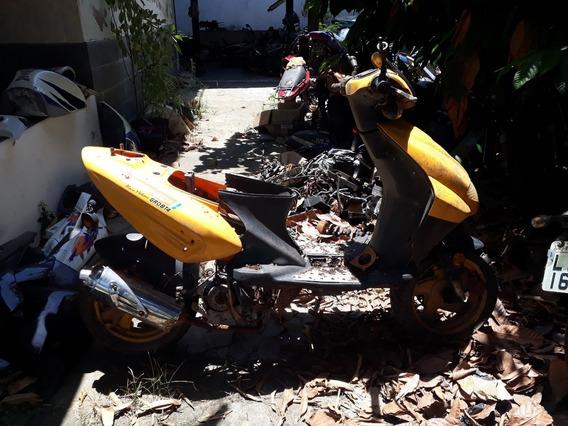 Moto Garini Para Retirada De Peças
