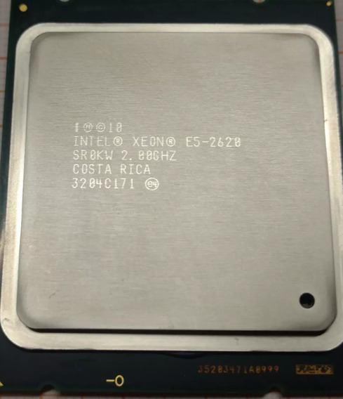 Processador Intel Xeon E5-2620 15m 2.00ghz 7.2gt Lga2011