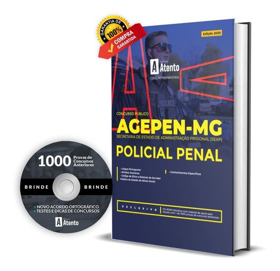Apostila Agepen / Mg Policial Penal / Seap / Minas Gerais
