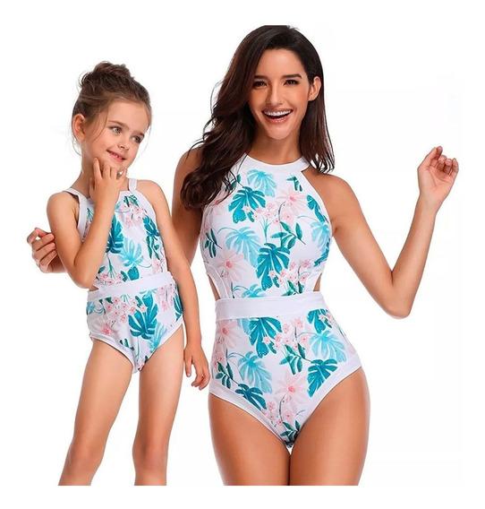 Traje De Baño De Niña Completo O Bikini Verano Nadar 2019