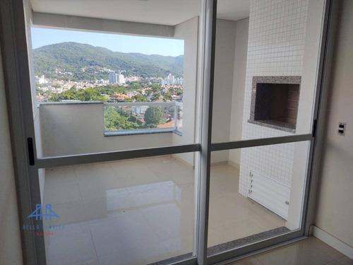 Imagem 1 de 30 de Apartamento Com 4 Dormitórios À Venda, 125 M² Por R$ 1.353.440,34 - Parque São Jorge - Florianópolis/sc - Ap2984