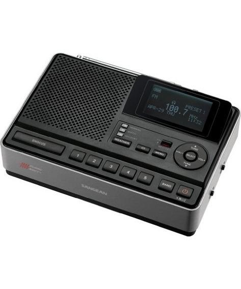 Sangean Cl-100 Mesa Tiempo Peligro Alerta Con Radio Reloj