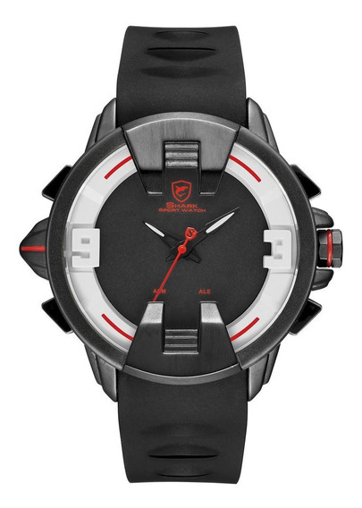 Sombra Interna Black Fita Led Double Display Relógio De Quar