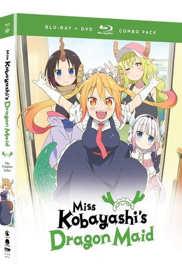 Miss Kobayashis Dragon Maid Serie Completa Blu-ray + Dvd