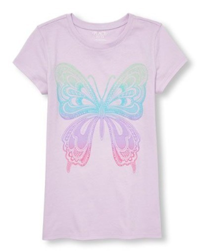 Franela Mariposa The Childrens Place Talla 16
