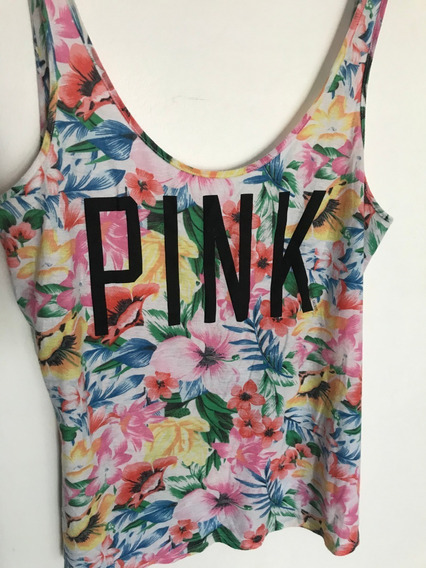 Musculosa Pink Victoria Secret S