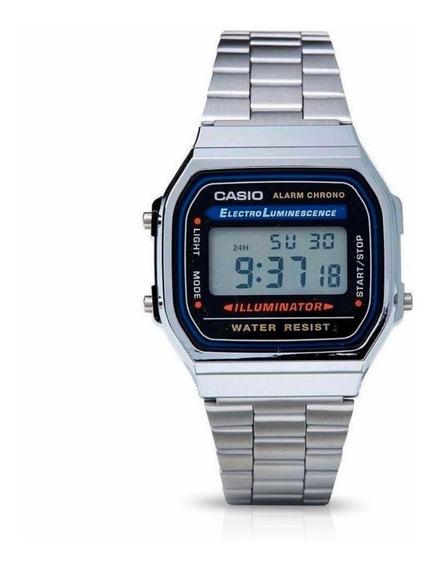 Relógio Casio Digital A168 Vintage Unissex
