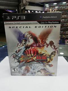 Street Fighter X Tekken Especial Edition - Ps3