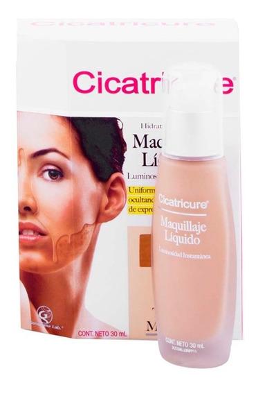 Maquillaje Líquido Cicatricure Medio 30ml Genomma Lab