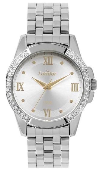 Relógio Condor Feminino Co2035kws/3k Prata Analogico
