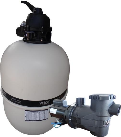 Kit Moto Bomba 3/4 Pré-filtro E Filtro V-50 Até 70 Mil L