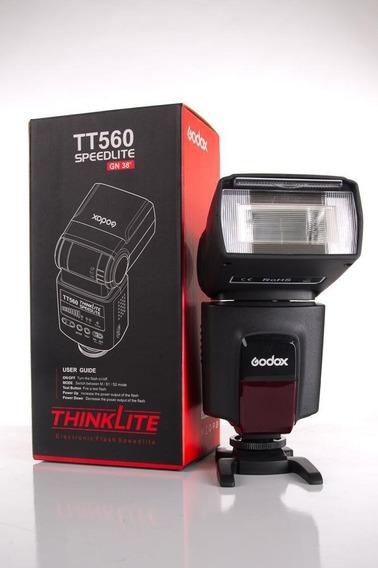 Flash Godox Tt560 Speedlite Digital Thinklite Gn38
