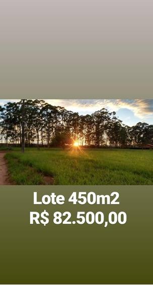 Terreno 450m2 R$82.500 Financ Próprio