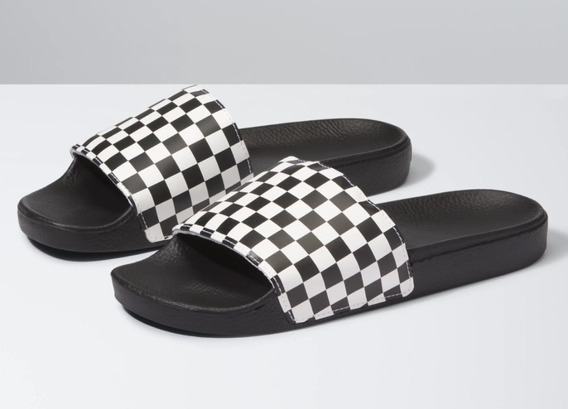 Ojotas Vans Slide On Checkerboard