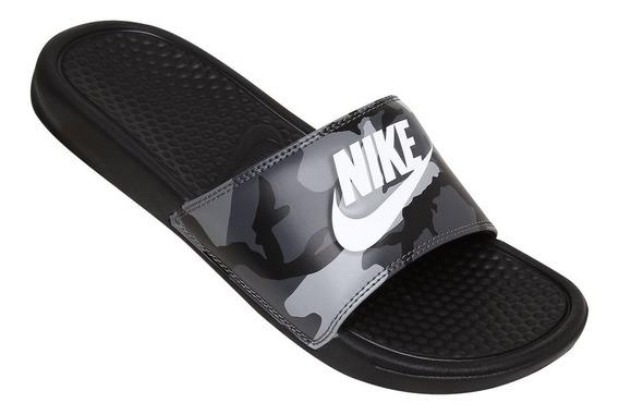 Chinelo Sandália Nike Benassi Jdi Print Camuflado
