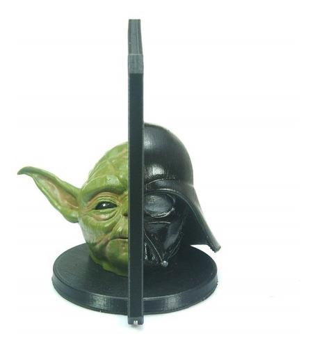 Darth Vader Vs Yoda  -  Star Wars - Ilusão Espelho Mágico