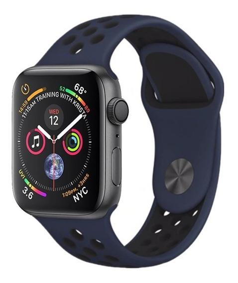 Pulseira Sport Para Apple Watch 1 2 3 4 38mm 40mm 42mm 44mm