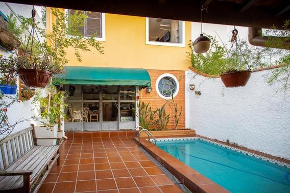 Casa Para Venda Em São Paulo, Brooklin, 4 Dormitórios, 4 Banheiros, 2 Vagas - Rab338vca_1-1350131