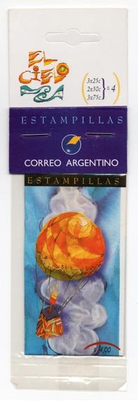 Argentina 1995 Gj 2756/63 Carnet 2756** Mint El Cielo A