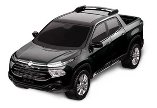 Carrinho Fiat Toro Metalizada Pick Up 38cm - Roma Brinquedos