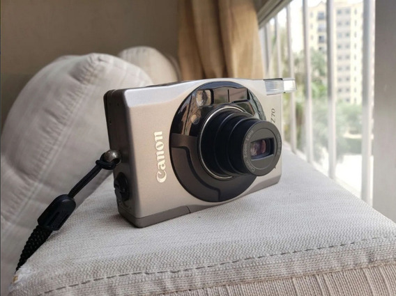 Maquina Fotográfica Canon Ixus Z 70 Leia O Anuncio