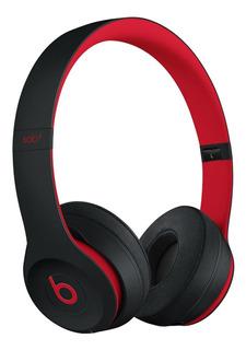 Audífonos inalámbricos Beats Solo³ Wireless black y red