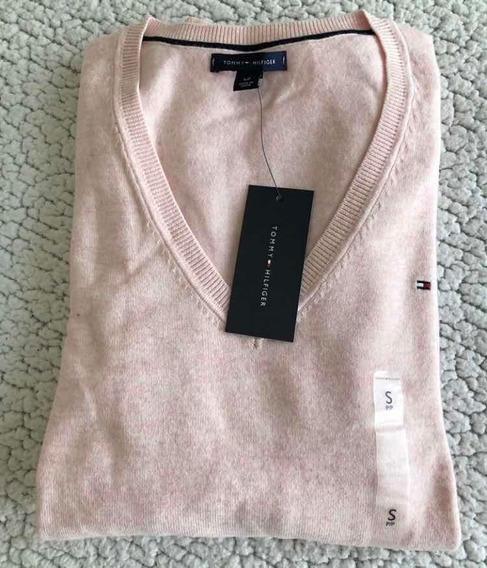 Sweater Tommy De Mujer Talla Xs