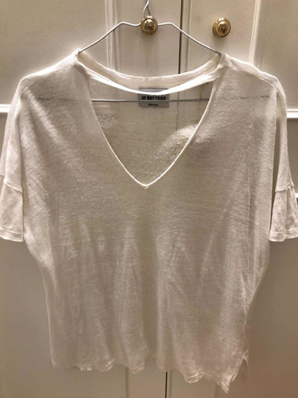 Remera Blanca Ay Not Dead Impecable!!