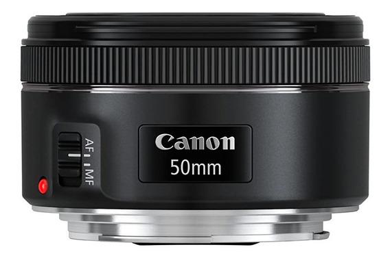 Lente Canon Ef 50mm F/ 1.8 Stm, Nova, Lacrada, P/entrega