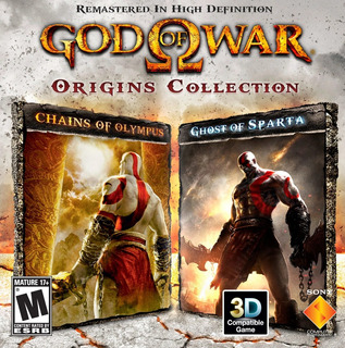 God Of War Origins Collection Ps3 (no Cd) Psn Chains Y Ghost