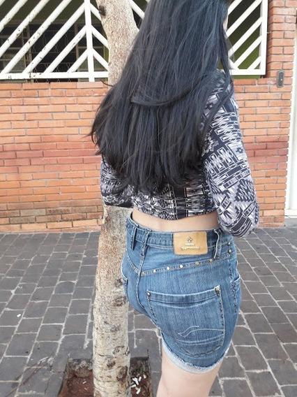 Shorts Jeans Carmim Numero 38 Original