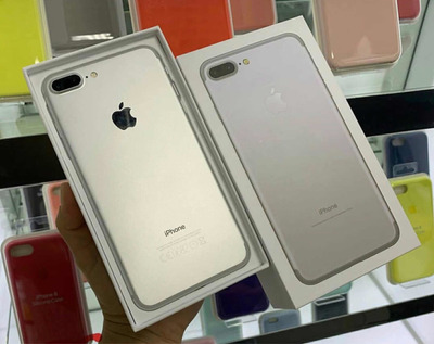 iPhone 7 Plus Silver De 128gb D. Bloqueo De Factory Nuevo
