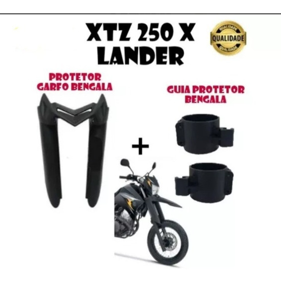 Protetor Bengala Xtz 250 X Lander + Guia Protetor
