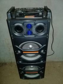 Caixa De Som Amplificada 600w Bivolt , Com Controle Remoto